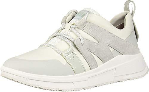 FitFlop Carita, Zapatillas sin Cordones Mujer, Blanco Urban White 194, 40 EU