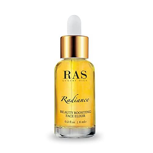 RAS LUXURY OILS Radiance Beauty Boosting Day Face Elixir Serum for Skin Brightening & Damage Repair, Reduce Pigmentation & Dark Spots 6 ml (Pack of 1)