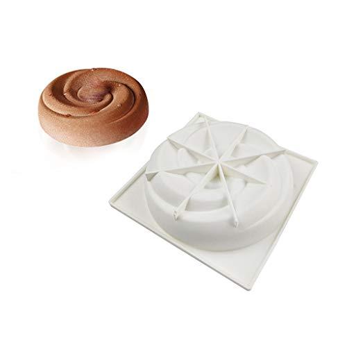 xiaome Moules en Silicone Gâteau co Moule À Gâteau 3D pour La Cuisson De La Crème Glacée Moule À Chocolat