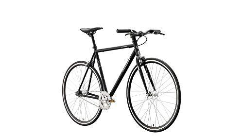 Rennrad Fixie Excelsior Dandy 28 - Black matt - RH 59 - Vintage Nostalgie Retro Fahrrad Herrenrad