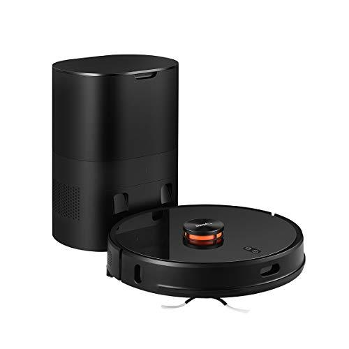 Roboter-Staubsauger, Lydsto R1 2700PA LDS2.0 Akku-Bodenreiniger mit automatischer Staubabsaugung und integriertem Moppreiniger mit 3L-Basis für großen Staubbeutel