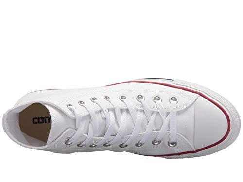 Converse - Optical White M7650 - Zapatillas de lona con caña alta