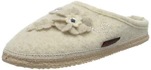 GIESSWEIN Hausschuh Norderney - warme Indoor Slippers | Damen Filz-Pantoffeln | leichte Filz-Hausschuhe aus 100% Wolle | rutschfeste Damenhausschuhe