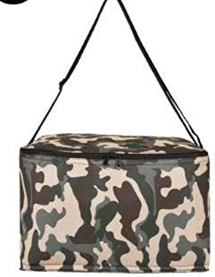 20L Large Capacity Portable Cooler Bags with 20 Bottles Picnic Storage Camouflage Lunch Available for Custom