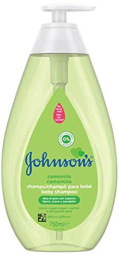 Johnson's Baby Champú Camomila, ideal para toda la familia