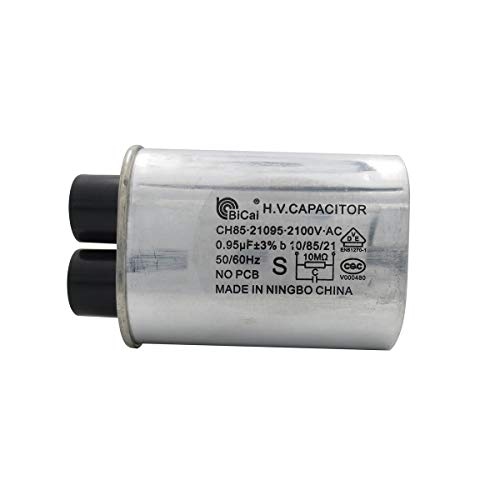 Meter Star CQC Condensador universal de alto voltaje para microondas 0.95uf ch85 21095 2100V AC H.V. Condensador 10/85/21 50/60Hz sin PCB