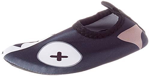 IceUnicorn - Escarpines de baño para niños, zapatos de playa, niñas, zapatos de agua para bebé, color, talla 18/19 EU