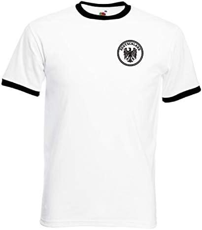 Camiseta Retro Alemana del Equipo de fútbol de Alemania