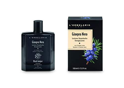L'Erbolario L'erbolario ginepro nero energiespendende aftershave lotion 100 ml