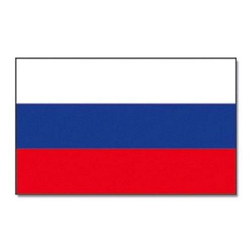 MM Russland Flagge/Fahne, wetterfest, mehrfarbig, 150 x 90 x 1 cm, 16306
