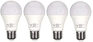 ALZO 8W (75W) Joyous Light Dimmable LED Full Spectrum Light Bulb 5500K Bright White Daylight, 450 Lumens, 120V, Pack of 4