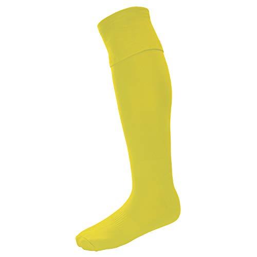Surridge Sports Match Calcetines, Hombre, Amarillo, Size 7-11