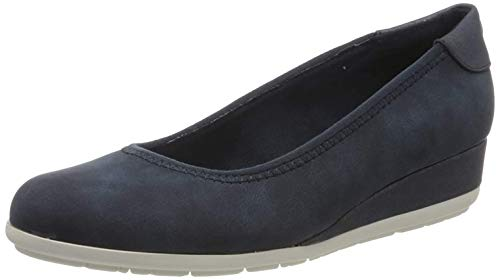 s.Oliver Damen 5-5-22302-24 Pumps, Blau (Navy Comb. 891), 39