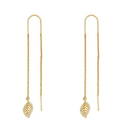 YFZCLYZAXET Pendientes Mujer Pendientes De Perlas con Letras para Mujer, Pendientes Casuales De Moda, Pendientes Simples-Iecc1809Gd