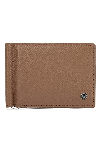 ALLEN SOLLY Bi Fold Closure Leather Mens Casual Wallet (S21ASWRGBF40019001, TAN, Free Size)