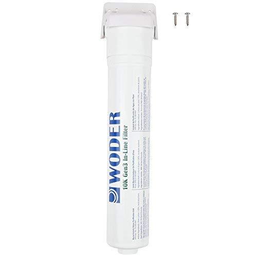 "Woder-10K-Gen3-JG-3/8 Inline Water Filter 10,000gal with 3/8"" JG Quick Connect"