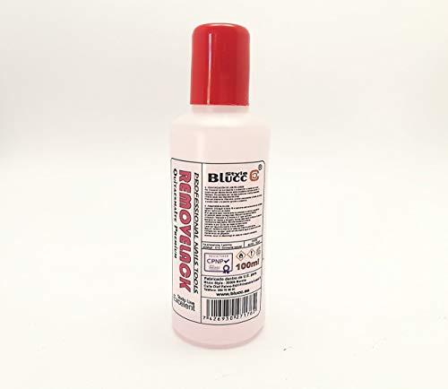 Removelack 100ml, Liquido potente, quita esmaltes permanentes, uñas de gel o de porcelana