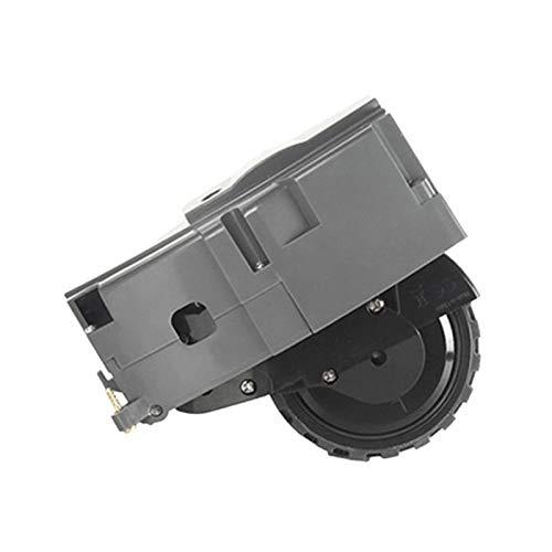 Piezas de repuesto para aspiradoras IRobot Fit para Roomba 860 861 890 980 Barredora piezas de repuesto universal para la rueda izquierda accesorios (color: gris)