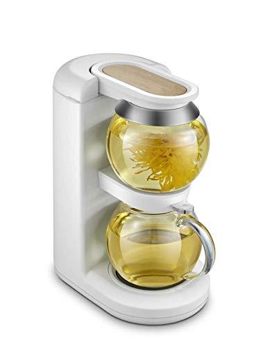 MISS KANG Tetera de vidrio con aislamiento térmico de 2 horas de cocina eléctrica de cerámica de ebullición filtro de agua de té de cerveza calentador eléctrico tetera Qingchunw
