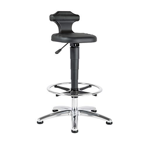 bimos Stehsitz - für Labor - Höhenverstellbereich 510 – 780 mm - Arbeitshocker Arbeitsstuhl Arbeitsstühle ESD-Arbeitshocker ESD-Stehhilfe ESD-Stehhilfen Hocker Laborarbeitshocker Laborhocker Reinraumarbeitshocker Stehhilfe Stehhilfen Stehsitz Stehsitze