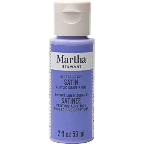 Martha Stewart Crafts Multi-Surface Satin Acrylic Paint, 2 oz, Periwinkle, 2 Fl Oz