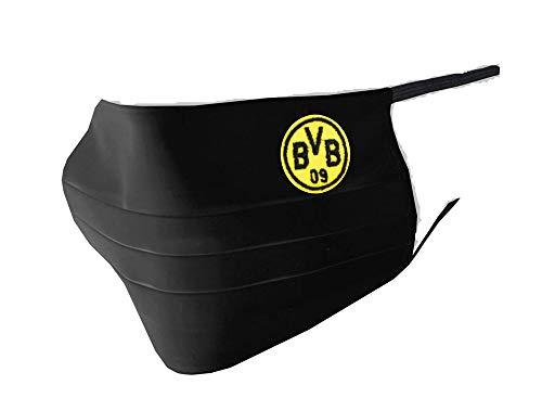 Borussia Dortmund - BVB MNS-Maske (Kinder schwarz)