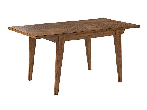La mesa extensible de estilo antiguo