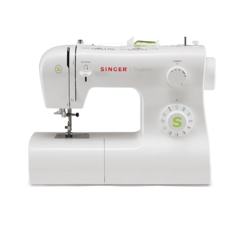 SINGER | Tradition 2277 Sewing Machine with 23 Built-In Stitches, & Easy-To-Use-Free-Arm - Perfect for Beginners - Sewing Made Easy,White