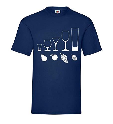 Alcoholische dranken mannen T-shirt - shirt84.de