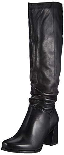 Tamaris Damen 1-1-25572-25 Kniehohe Stiefel, schwarz, 39 EU
