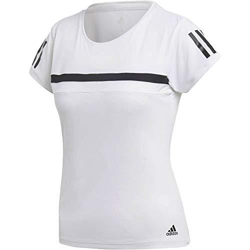 adidas Club tee Camiseta de Tenis, Mujer, Blanco (Blanco), M