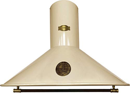 Kaiser Belle Epoque 9423 ElfBe • Retro Dunstabzugshaube • Abzugshaube • Wandabzugshaube • Abluft/Umluft • 3 Stufen • 910 m³/h • 90 cm • Leder bedeckte Griffstange•inklusive Umluftset