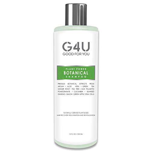 G4U Botanical Shampoo for Hair Loss, Hair Growth and Thinning Hair....