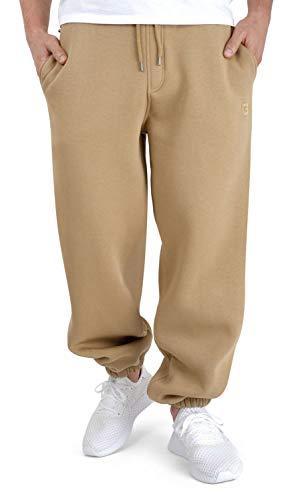 BACKSPIN Sportswear - Basic Jogginghose Farbe Sand, Größe XL
