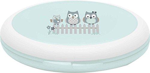 Bébé-jou 623232 Set de manucure pour bébé Motif famille hiboux
