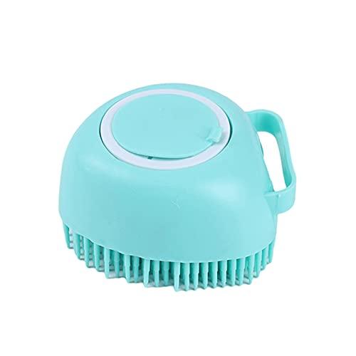 Chuanhao Cepillo de ducha de silicona suave para mascotas, multifunción, limpieza rápida