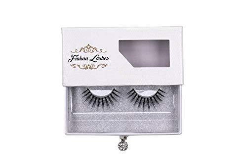 Wunderschöne künstliche Wimpern/Luxus Lashes/Fake Wimpern in 3D Optik mit Premiumbox, die Wimpern sind wiederverwendbar & handgemacht