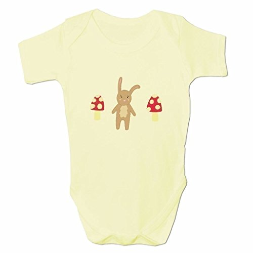 Funny Baby Grows Cute Baby Clothes for Baby Boy Body Vest Cute Woodland Rabbit