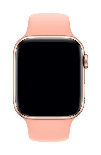 Apple Watch (44mm) Sportarmband, Grapefruit - Regular