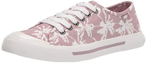 Rocket Dog Women s Jumpin Surfside Palm Cotton Walking Shoe, Pale Pink, 8