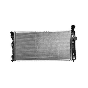 TYC 2343 Buick 1-Row Plastic Aluminum Replacement Radiator