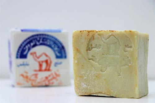 Original Al Jamal Soap Bars Virgin Olive Oil Organic Natural Traditional Holy Land Handmade~ Nablus (Count 4)