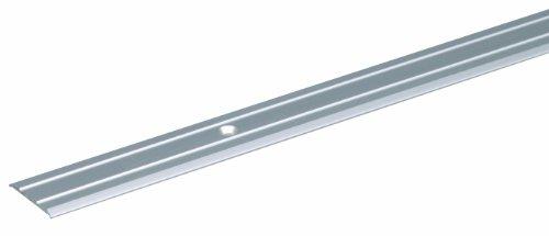 GAH-Alberts 491925 Übergangsprofil | gebohrt | Aluminium, edelstahlfarbig eloxiert | 900 x 38 mm