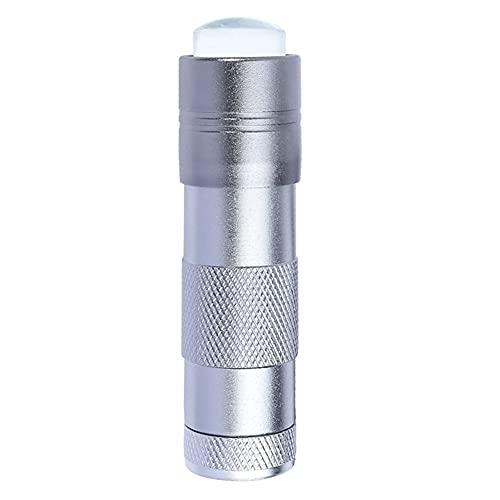 Unghie Mini Light Pressure Palmare Per Unghie Per Nail Art Press Light Nail Light Light Silicone Silicone Sticker Adesivo Pura Lampada Strumenti Manicure Accessori (nessuna Batteria)