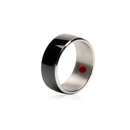 Smart NFC Multifuncional Anillo Impermeable Smart Ring Accesorios para TeléFonos MóViles Regalos Creativos Personalizados Pulsera Inteligente R3F Smart NFC Ring para Android/Windows/TeléFonos
