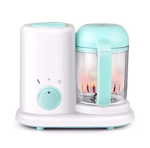 Babyvoeding Blender Steamer Supplement Machine Multi-Function Mini Thuis koken machine Meat Grinder Juicer Blender Schuurbaar Machine,Green