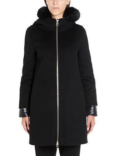 Herno Luxury Fashion Damen GC0245D380199300 Schwarz Andere Materialien Mantel | Herbst Winter 19