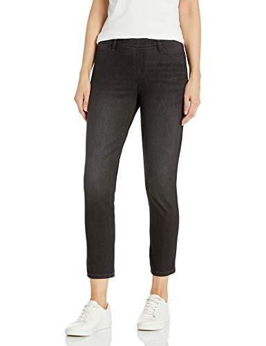 Amazon Essentials Pull-On Knit Capri Jegging Pants, Lavaggio Grigio, XX-Large Long