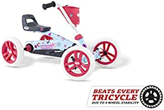 Berg Pedal Car Buzzy Bloom | Pedal Go Kart, Ride On Toys for Boys and Girls, Go Kart, Toddler Ride on Toys, Outdoor Toys, Beats Every Tricicle, Adaptable to Body Lenght, Go Cart for Ages 2-5 Years