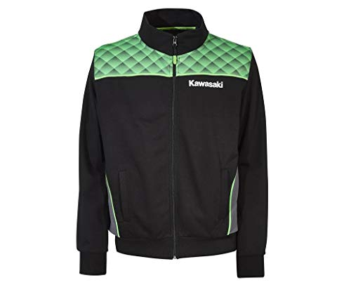 Kawasaki Sports Sweatshirt Jacke (4XL)